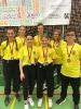 Mannschaftsfoto mit den jungen Siegern