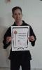 16-Schwarzgurt-Prüfung im Shaolin Kempo bestanden